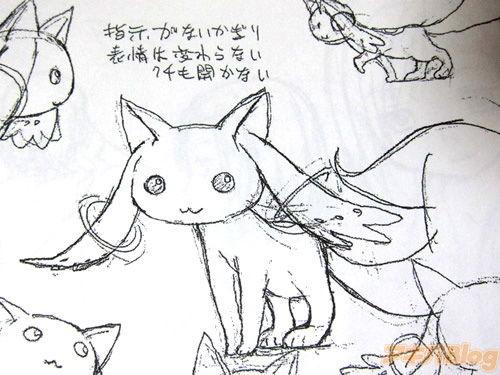 小动物张开嘴巴的简笔画
