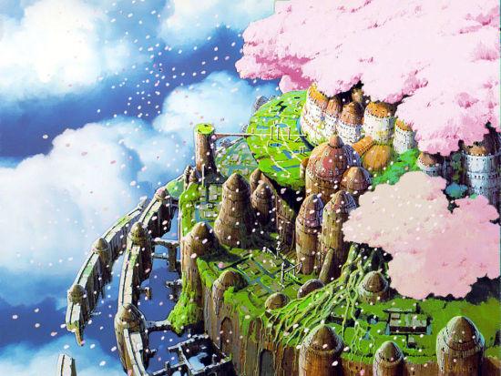 《天空之城》中的岛城