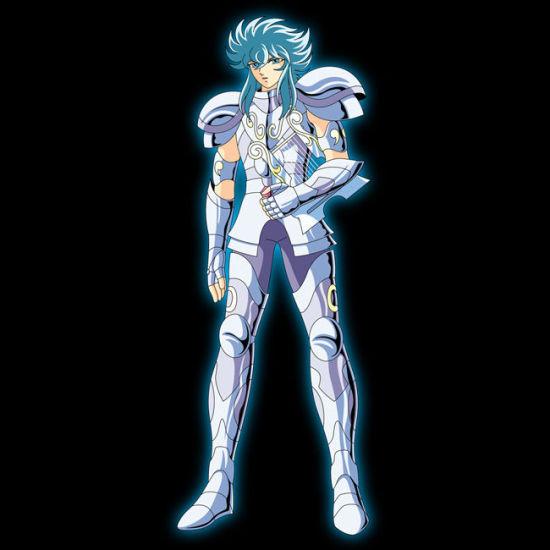 原作中的冥衣版白银圣斗士英仙座亚鲁哥路
