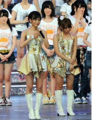 AKB48前田敦子毕业现场图