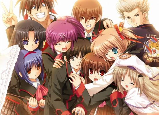 《Little Busters!》人设