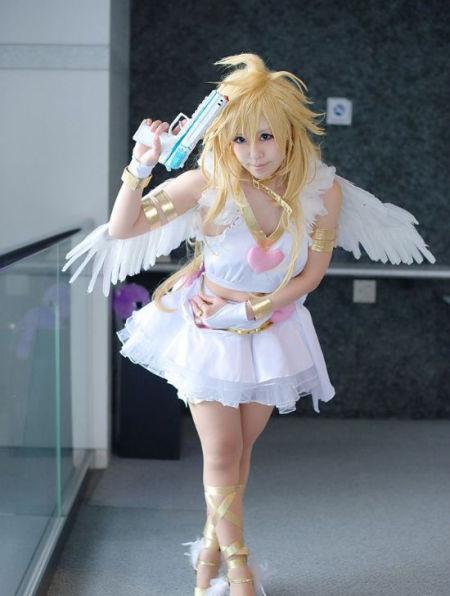 《吊带袜天使》美少女Panty甜美cos
