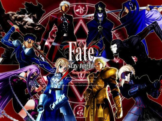 命运之夜/圣杯之战/fate zero