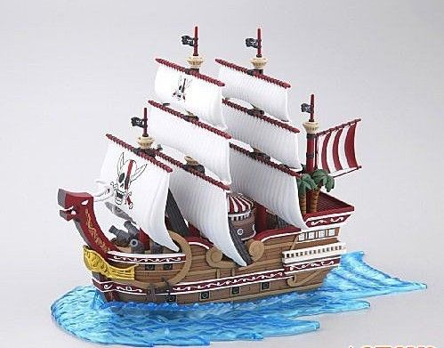 """红发海贼团的战舰""""雷德佛斯号"""""""