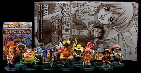 海贼们的海底乐园 万代Q版盒玩鉴赏