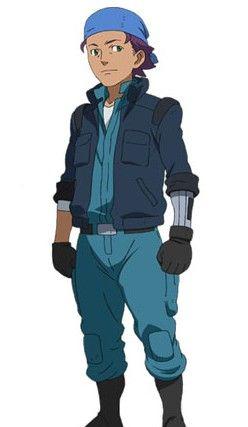 迪�c多纳:MS部队的机械技师。