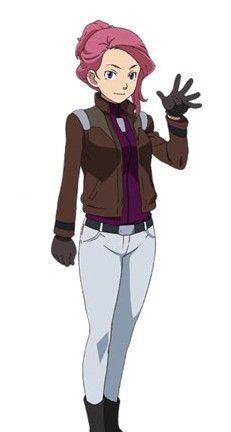 莎娜露娅氰伦:地球联邦军中尉。
