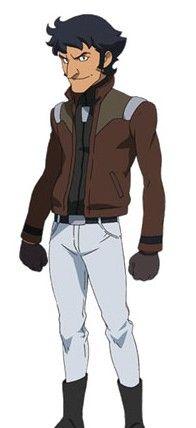 德里克��克路:地球联邦军中尉。