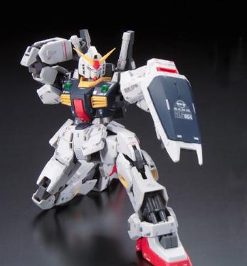 万代RG官方新图 RX-178 MK-II之超强质感