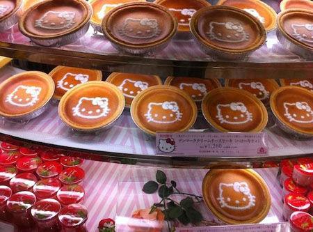 凯蒂猫甜瓜(8600日元)