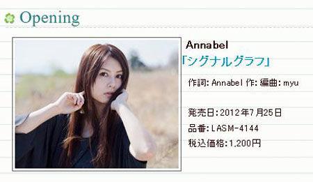 片头曲由Annabel献唱