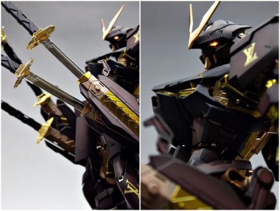 这个机体主打佩剑,一共有四把(不知道这剑能不能当浮游炮,不然四刀流)。