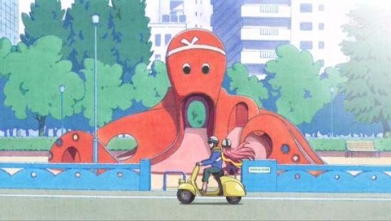 《战国COLLECTION》 舞台/大阪市北区・地下鉄御堂筋線中津駅 等    改编自KONAMI手机抽卡游戏的《战国COLLECTION》,每一话都是一个小的单元剧,由一名穿越自日本战国时代或其他时代的女体化古代人物担任主角,剧情则捏他自经典电影,如第一集以织田信长为主人公,捏他的是《罗马假日》。由于每集的舞台不同,所以作品也没有固定的取景地,包括吉祥寺、大阪、御台场、立川、涩谷、高圆寺、新宿等等。 Yodobashi吉祥寺店(现实)