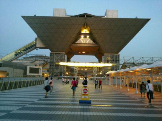 C82前夜的东京国际展览馆