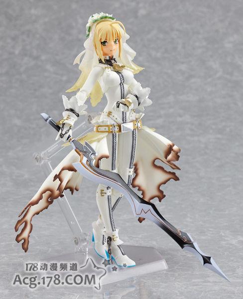 PSP《Fate/Extra》续作将同捆花嫁吾王figma