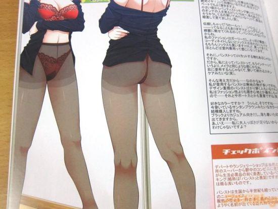 图解各类黑丝白丝《有些H的长筒袜事典》发售