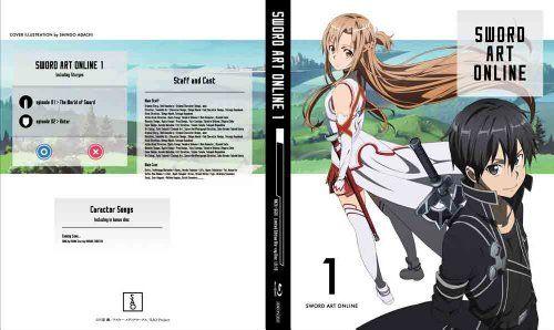 《刀剑神域》BD/DVD第一卷封面