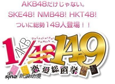 裁员酿悲剧 游戏《AKB1/153》标题改为1/149