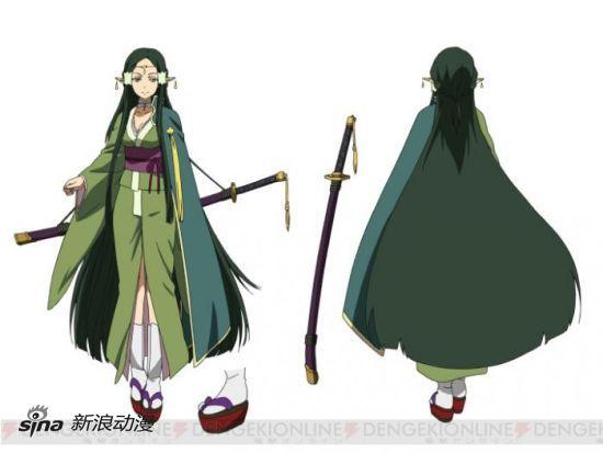 《刀剑神域》新章妖精之舞篇新角色设定画公开