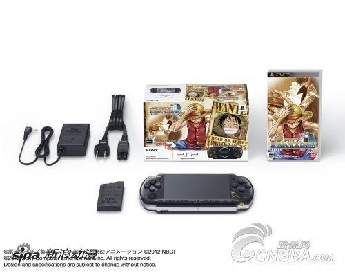 PSP《海贼王 冒险黎明》特别限定版12月发售