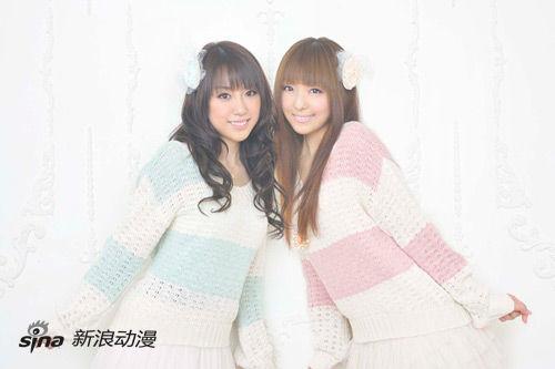 加藤英美里与福原香织首张专辑将于12月发售