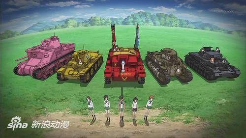 《少女与战车》式粉红涂装坦克加入美国陆军