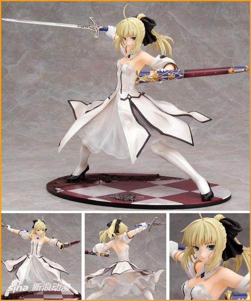 GSC Saber Lily 胜利的黄金之剑 12月发售→2013年2月发售预定