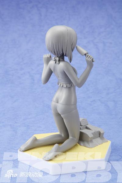 《少女与战车》西住美穗泳装PVC原型图公开