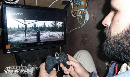 叙利亚反体制派坦克竟用索尼手柄当方向盘?