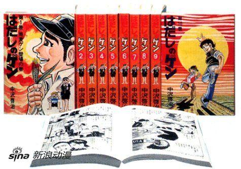 反核题材漫画《赤足小子》作者中泽启治去世