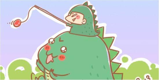 【每个月总有那么三十几天想要欺负小恐龙!】