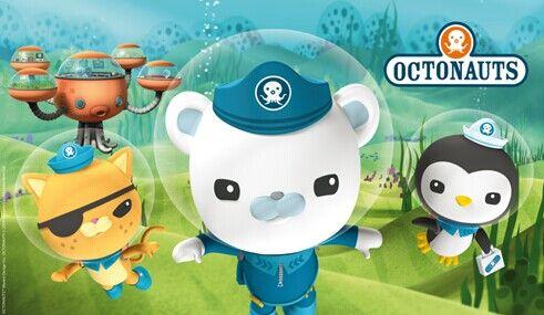 动画讲述了八个可爱小动物组成的海底探险小队的故事