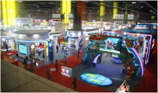 2015广州玩具展动漫形象授权展区