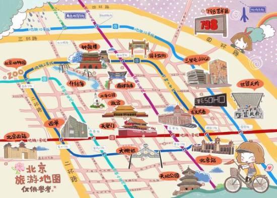 随书附赠上海动漫手绘旅游地图(仅供参考,以实物为准)